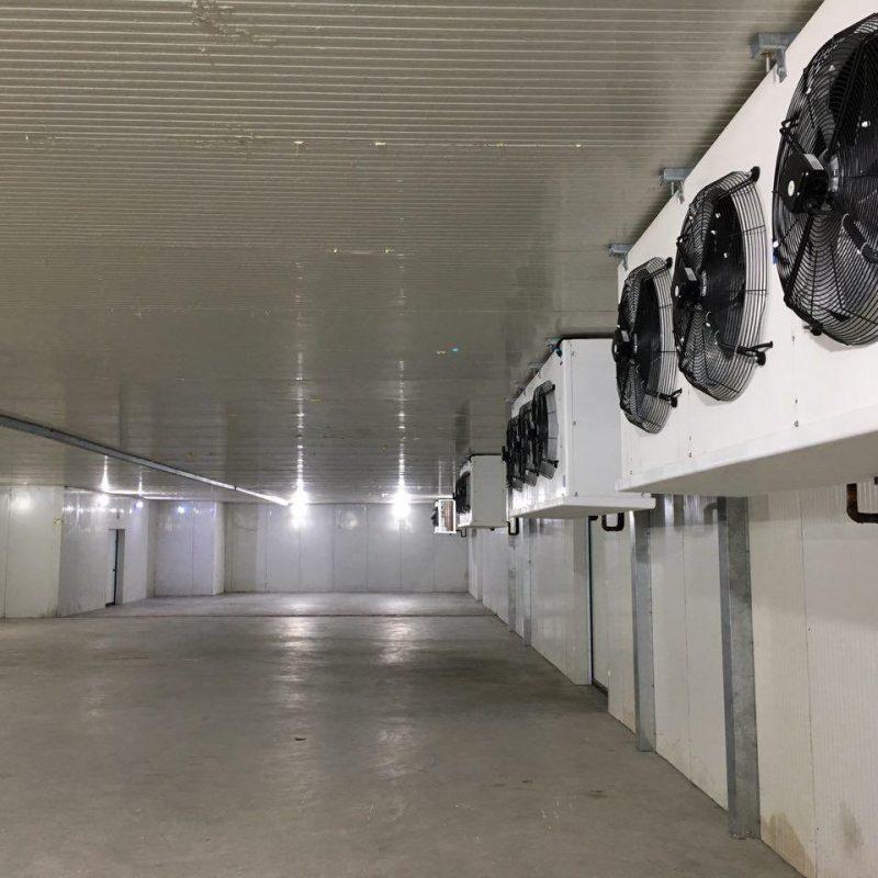 به روزرسانی تجهیزات سردخانه های قدیمی
