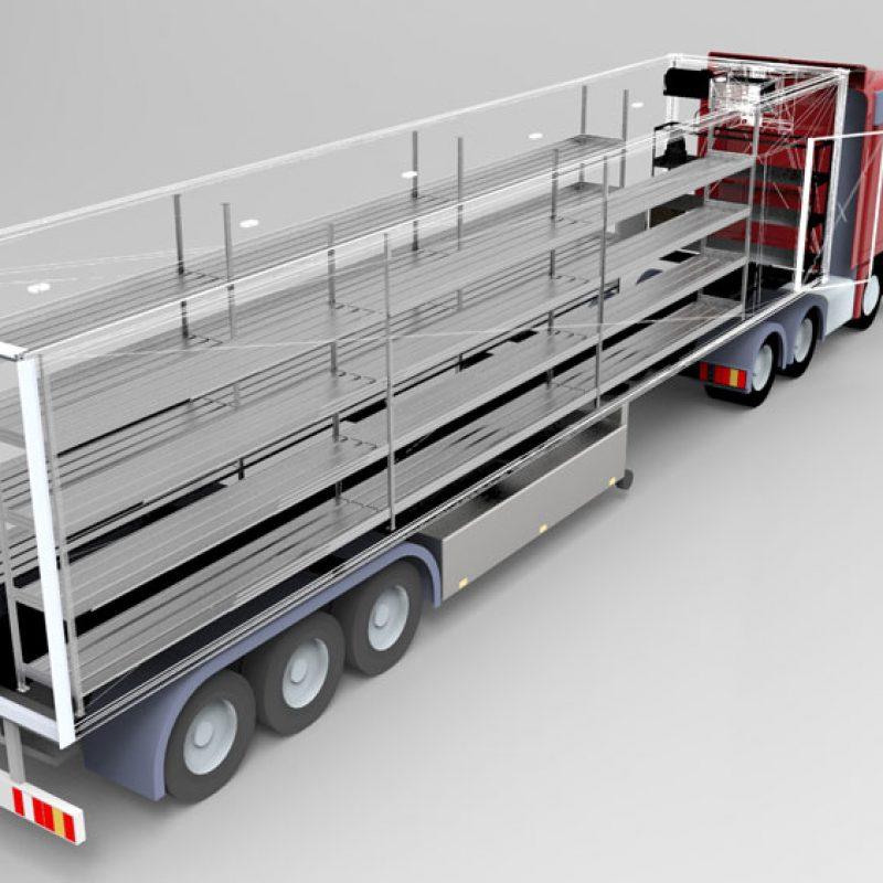 نکات مربوط به طراحی ساندویچ پنل یخچال کامیون و وانت