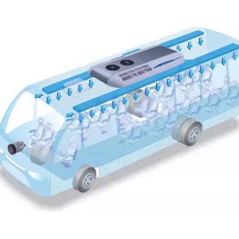 تفاوت عملکرد سیستم های تهویه مطبوع خودروهای حمل و نقل عمومی و با یونیت های تبرید